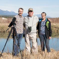 Laval, Bob & Kathy...Presenter & Field trip leaders
