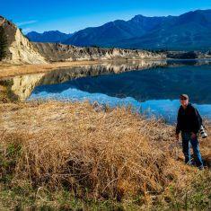 The beautiful Columbia River Wetlands