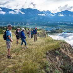 Social distancing on bird walk Photo by Pat Morrow