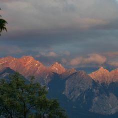 Alpen Glow Photo by Hilda Jensen