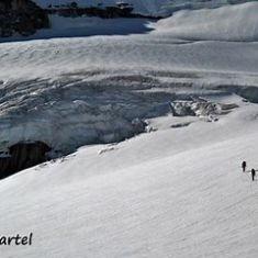 Hiking the Glacier Pat Morrow